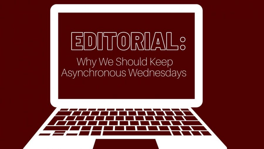Scarsdale High School should keep asynchronous Wednesdays for students to work on projects and meet with teachers.