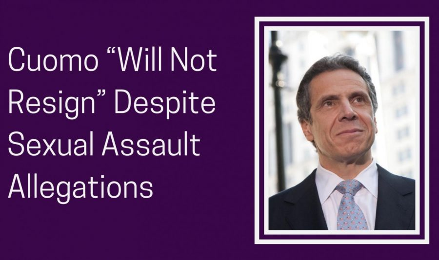 After the nursing home scandal, many women have stepped forward to accuse Cuomo of sexual harassment.