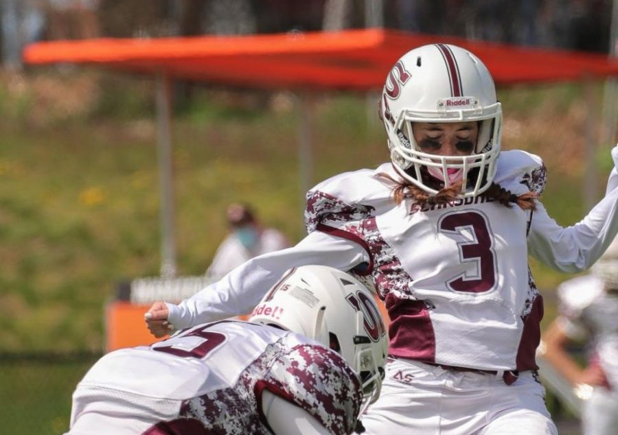 Ryan Silberfein '21 makes history as Scarsdale football's first female varsity player.