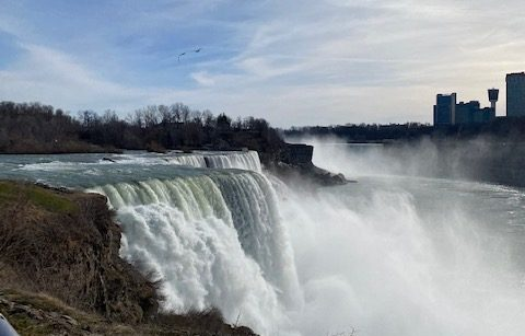 Over break, I took a road trip to upstate New York and saw Niagara Falls for the first time.