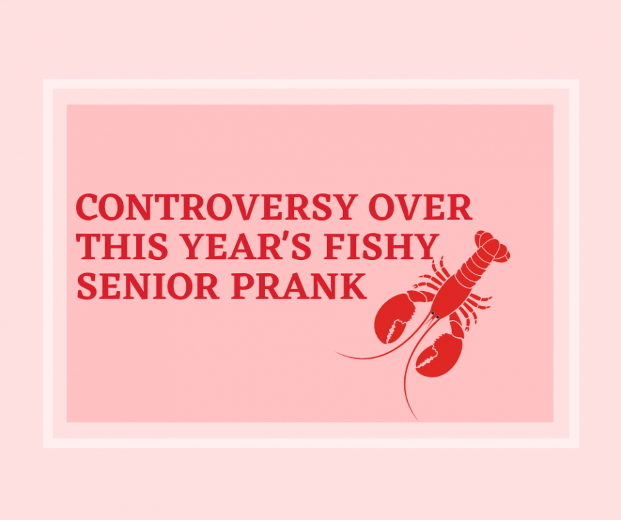 The senior prank this year consisting of lobsters poses ethical and moral dilemmas with SHS students and SHSs H.E.L.P Animals Club.