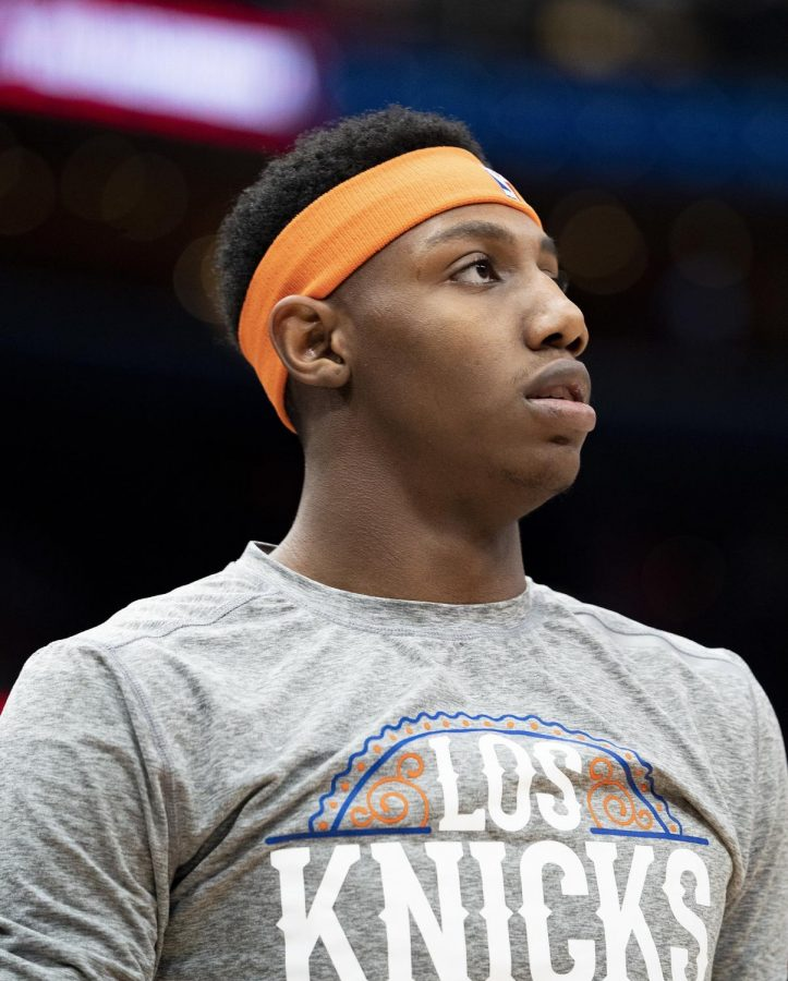 Second-year star RJ Barrett has been crucial to the Knicks' success this season.
