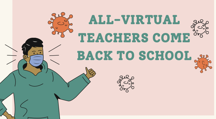 Virtual teachers start to come back to school as the vaccine becomes more readily available.