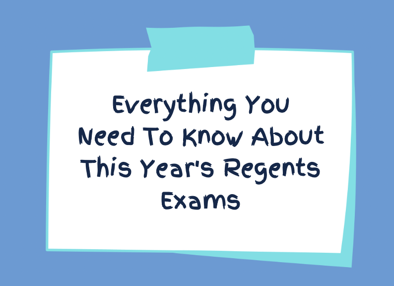 Due to COVID-19, the policies on the NY Regents have changed.