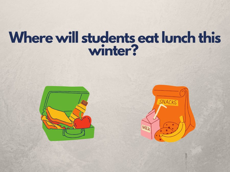As it gets closer to winter, the lunch situation is unclear.